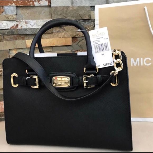 1480682d47dc  298 Michael Kors Hamilton Handbag Bag MK Purse